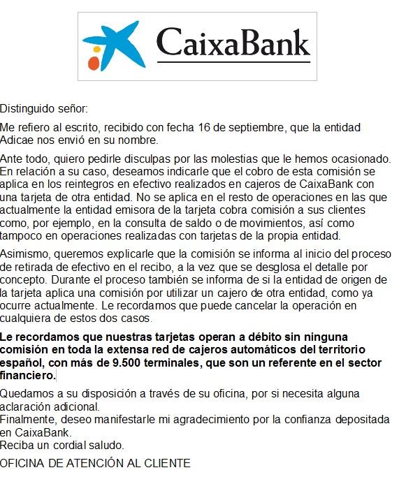 Adicae la econom a de los consumidores for Clausula suelo caixabank