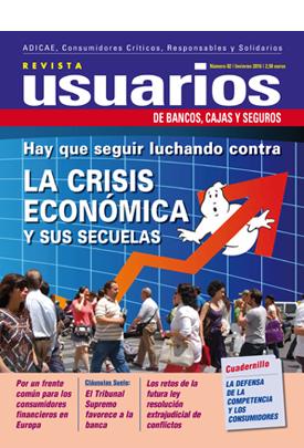 Hay que seguir luchando contra la crisis económica y sus secuelas
