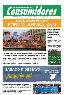 13 aniversario del caso Fórum-Afinsa-AyN